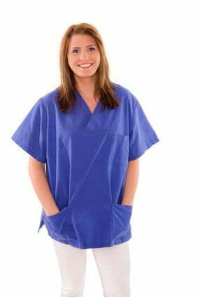Arbeitskleidung kann durchaus modisch und farbenfroh sein