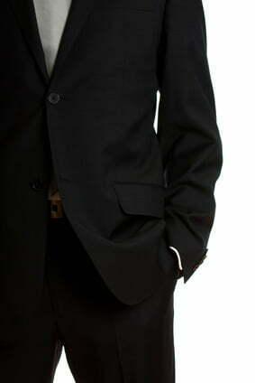 modischer Anzug